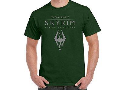 FR031 - Camiseta - Estampa SKYRIM