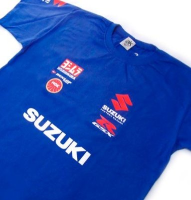 FR027 - Camiseta Estampa SUZUKI TEAM - MOTO GP