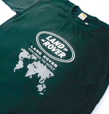 FR032 - Camiseta - LAND ROVER EXPLORING THE WORLD