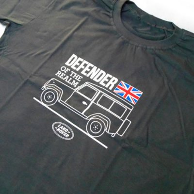 FR033 - Camiseta - LAND ROVER DEFENDER OF THE REALM