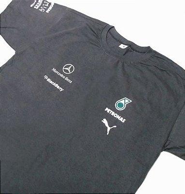 FR037 - Camiseta - Estampa MERCEDES PETRONAS F1