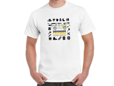FR203 - Camiseta LAND ROVER DEFENDER EXPLORER