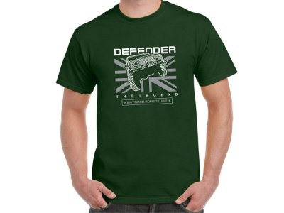 FR205 - Camiseta LAND ROVER DEFENDER - THE LEGEND