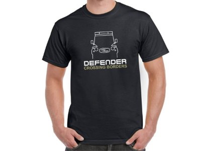 FR206 - Camiseta LAND ROVER DEFENDER - CROSSING BORDERS