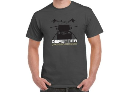 FR207 - Camiseta LAND ROVER DEFENDER CROSSING BORDERS NIGHT