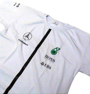 FR039 - Camiseta Estampa MERCEDES PETRONAS UBS - F1