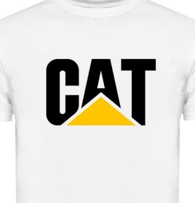 FR045 - Camiseta - Estampa CAT CATERPILLAR