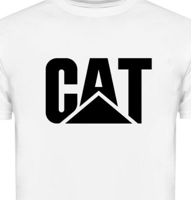 FR046 - Camiseta - Estampa CAT CATERPILLAR