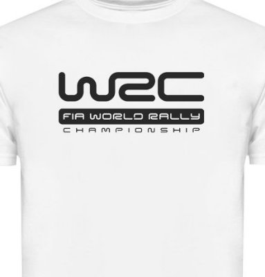 FR050 - Camiseta Estampa WRC FIA WORLD RALLY