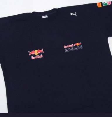 FR069 - Camiseta Estampa RED BULL Racing F1 - Tag
