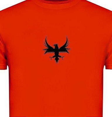 ST083 - Camiseta - Estampa Águia em recorte laser