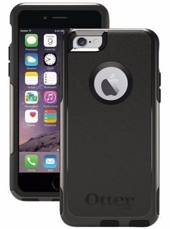 Capa Otterbox Commuter para iPhone 6/6S - Preto