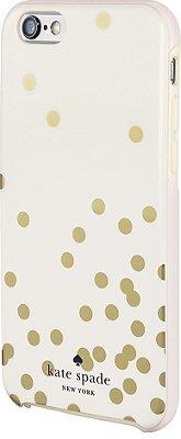 Capa para iPhone 6 Kate Spade - Gold Confetti