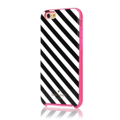 Capa para iPhone 6 Kate Spade - Diagonal Candy Stripes