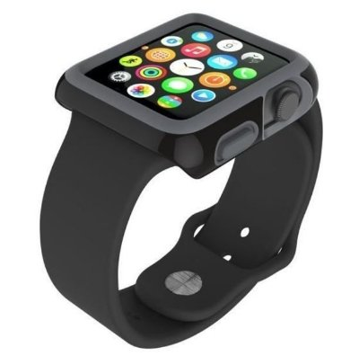 Capa Speck CandyShell FIT para Apple Watch 42 mm - Preto / Cinza