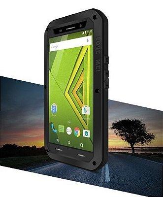 Capa Case Blindada proteção Militar para Moto X Play