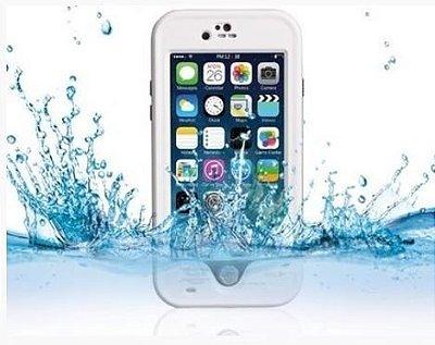 Capa a Prova De Água Para iPhone 6/6S Plus - Branco