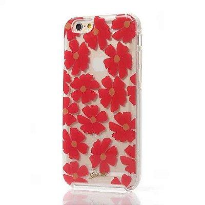 Capa Sonix para iPhone 6/6S Flores Vermelhas