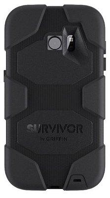 Capa Griffin Survivor para Samsung Galaxy S7 - Preto