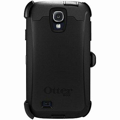 Capa Otterbox Defender Black para Samsung Galaxy S4