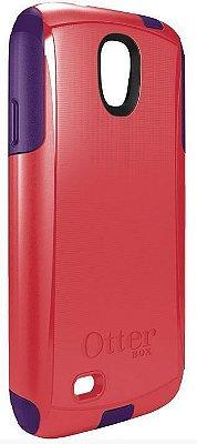 Capa Otterbox Commuter p/ Samsung S4 - Rosa Pink e Roxo