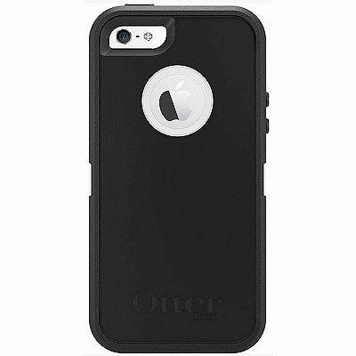 Capa Otterbox Defender para iPhone 5 / 5S Preto e Branco