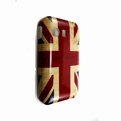 Capa Case Samsung Galaxy Y S5360 Bandeira Inglaterra UK Flag