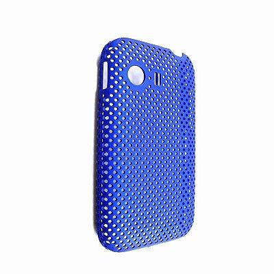 Capa Case Samsung Galaxy Y S5360 Mesh Azul