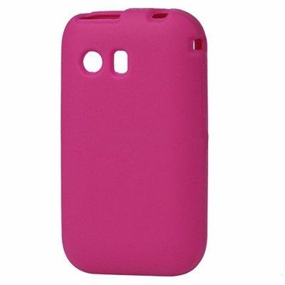 Capa Case Samsung Galaxy Y S5360 de Silicone Rosa Pink