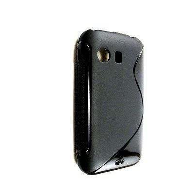 Capa Case Samsung Galaxy Y S5360 de TPU Preto