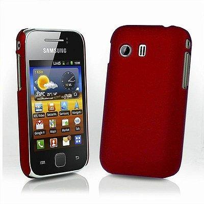Capa Case Samsung Galaxy Y S5360 Vermelha