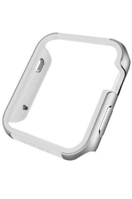 "Capa X-Doria Defense Edge para Apple Watch 42"" - Prta e Branco"