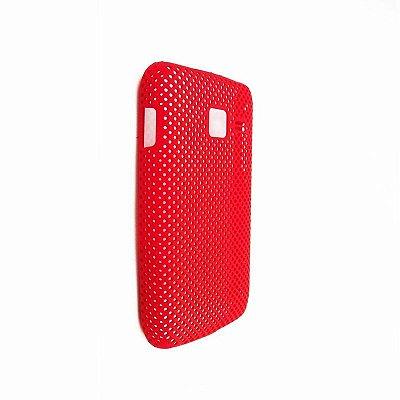 Capa Case Samsung Galaxy Wave Y S5380 Vermelho