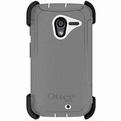 Capa Otterbox Defender Motorola Moto X - Cinza e Branco