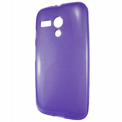 Capa Case TPU Roxo para Motorola Moto G