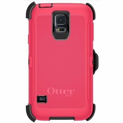 Capa Otterbox Defender para Samsung Galaxy S5 - Rosa e Preto