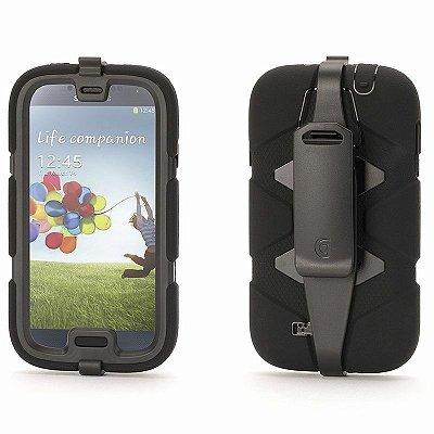 Capa Griffin Survivor para Samsung Galaxy S4 - Preto