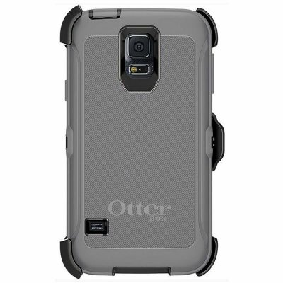 Capa Case Otterbox Defender para Samsung Galaxy S5 - Cinza e Preto