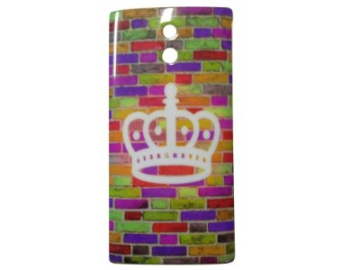 Capa Case Sony Xperia P Colorful Bricks.