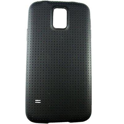 Capa Case para Samsung Galaxy S5 de TPU Preto.