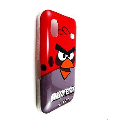 Capa Case para Samsung Galaxy Ace ( S5830) Angry Birds Red o Vermelho