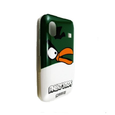 Capa Case para Samsung Galaxy Ace ( S5830) Angry Birds Yellow Green