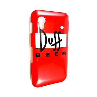 Capa Case para Samsung Galaxy Ace ( S5830) Cerveja Duff Simpsons