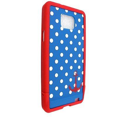 Capa Case 86 ERO para Samsung Galaxy S2 Polka Mariner