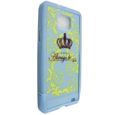 Capa Case 86 ERO para Samsung Galaxy S2 Always Be Royal