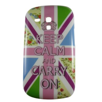 Capa Keep Calm para Samsung Galaxy S3 mini