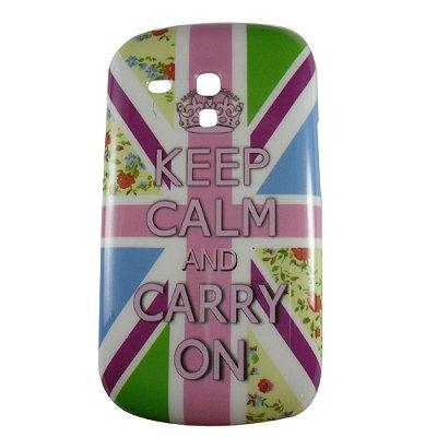 Capa Keep Calm para Samsung Galaxy S3 mini