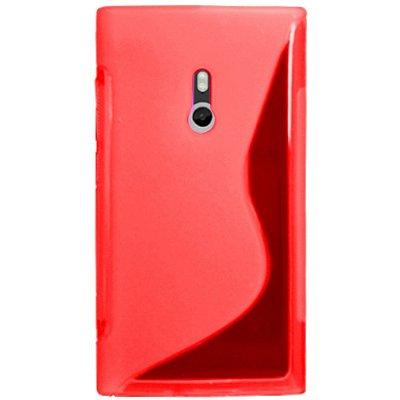 Capa de TPU Vermelho para Nokia Lumia 800