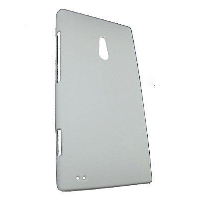 Capa de Plástico Resistente para Nokia Lumia 800 - Branco