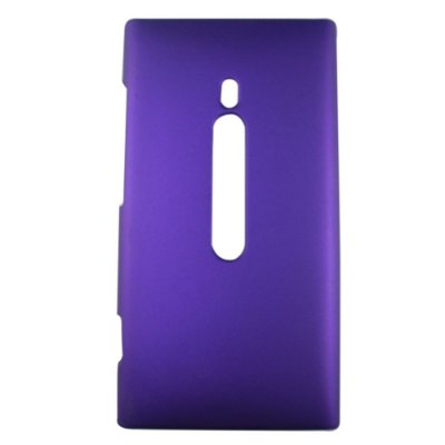 Capa de Plástico Resistente para Nokia Lumia 800 - Roxo